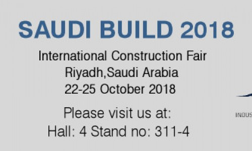 We will be at SAUDI BUILD on 22-25 October 2018