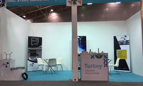 İDEÇ was at the SAUDI BUILD FAIR 2018