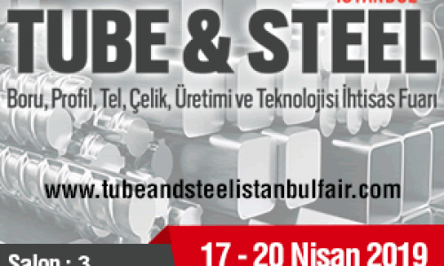 IDEC will be attend TUBE&STEEL İSTANBUL Fair, on April 17-20