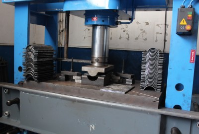 HYDRAULIC PRESS IS USED FOR THE PRODUCTION OF SOME TYPES